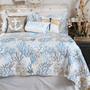 Seascape Coral Quilt Set - King