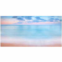 Seascape Pastels Canvas Art