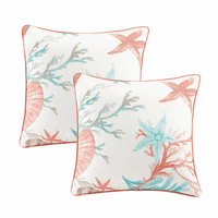 Seashell Bay Pillows - Set of 2
