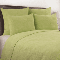 Seashell Green Quilt Bedding Collection - OVERSTOCK
