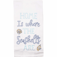 Seashell Home Flour Sack Towels - Set of 6
