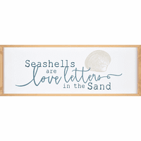 Seashell Love Wall Art