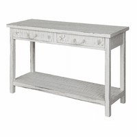 Seashell & Rope Console Table