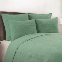 Seashell Seafoam Quilt Bedding Collection - OVERSTOCK