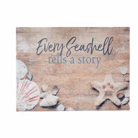 Seashell Story Wall Art - CLEARANCE