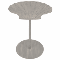 Seashell Top End Table