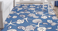 Seashell Tranquility Indoor/Outdoor Rug Collection