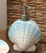 Seaside Getaway Lotion Dispenser - CLEARANCE