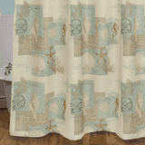 Seaside Getaway Shower Curtain