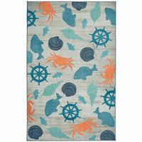 Seaside Icons Rug Collection