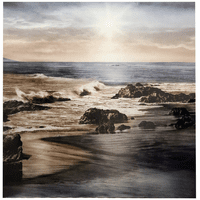 Seaside Sunset Metal Wall Art