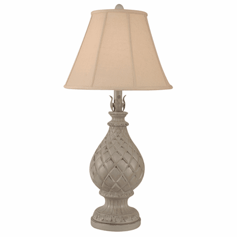Seaside Villa Pineapple Pot Table Lamp