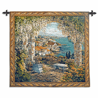 Seaview Hideaway Small Wall Tapestry