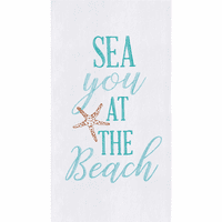 See You Flour Sack Towels - Set of 6