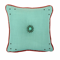 Sensu Capri & Coral Accent Pillow