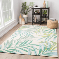Serene Leaves Indoor/Outdoor Rug Collection