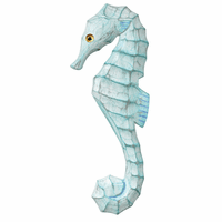 Serenity Seahorse Wall Art - Left Facing