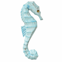 Serenity Seahorse Wall Art - Right Facing