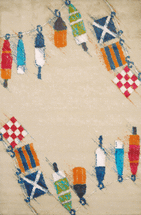 Set Sail Sand Rug Collection