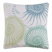 Shell Collector Nautilus Pillow