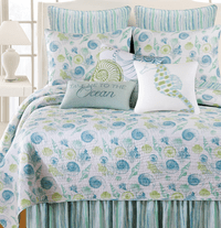 Shell Collector Quilt Set - King