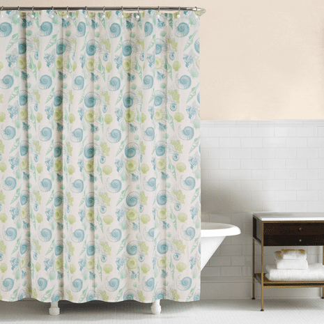 Shell Collector Shower Curtain