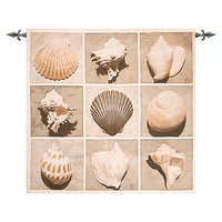 Shell Collector Wall Tapestry