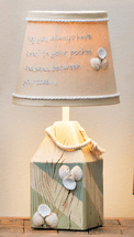 Shell Fish Buoy Accent Lamp