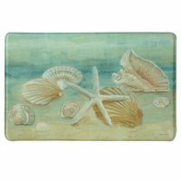 Shell Impressions Memory Foam Mat Collection