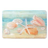 Shell Impressions Memory Foam Rectangle Mat - CLEARANCE