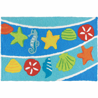 Shell Lineup Indoor/Outdoor Rug