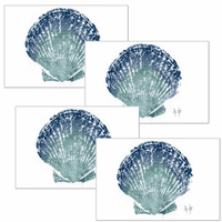 Shell Placemats - Set of 4