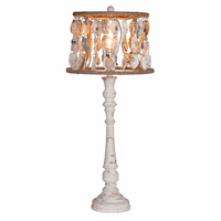 Shell Shade Table Lamp