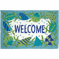 Shell Welcome Indoor/Outdoor Rug