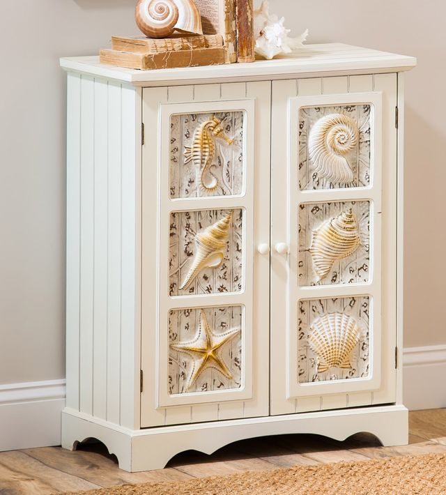 Beach Style Furniture Shelves Cabinets