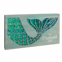 Shimmering Mermaid Wall Art