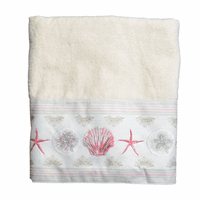 Shimmering Shells Bath Towel - CLEARANCE