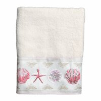 Shimmering Shells Hand Towel - CLEARANCE