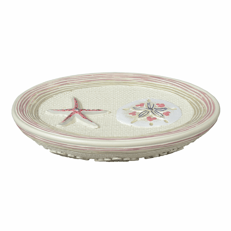 Shimmering Shells Soap Dish - CLEARANCE