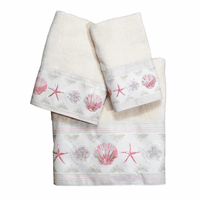 Shimmering Shells Towel Collection