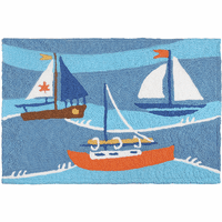 Ships Ahoy Indoor/Outdoor Rug