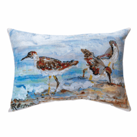 Shorebird Pillow
