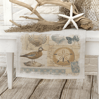Shorebirds Runner - 16 x 48