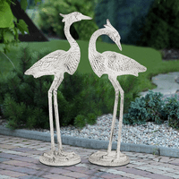 Shy Egrets Statuary - Set of 2