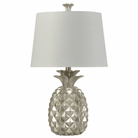 Silver Aloha Table Lamp