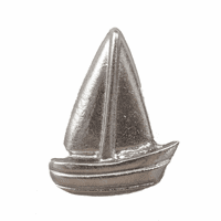 Simple Sailboat Cabinet Knob