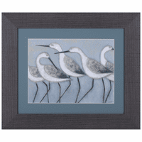 Simple Seabirds I Framed Art