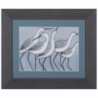 Simple Seabirds II Framed Art
