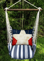 Single Star Marina Stripe Swing Set