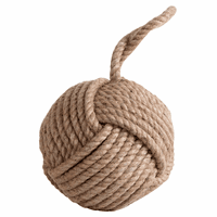Sisal Monkey Fist Doorstop